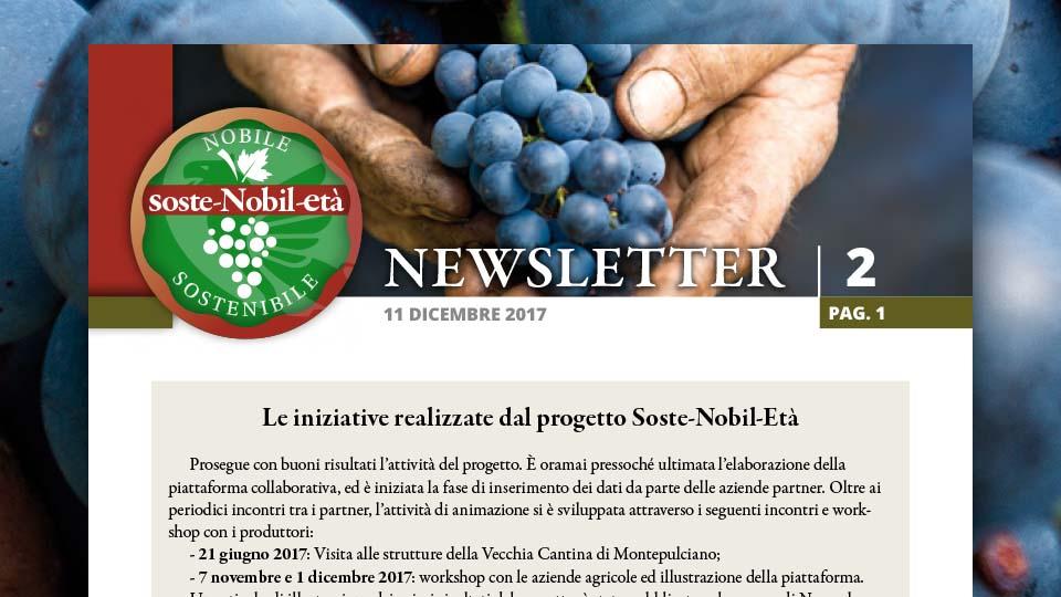 Soste-Nobil-Età. La newsletter 2 dell'11 dicembre 2017
